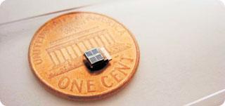 Panou solar minuscul, cu funcţionare îndelungată