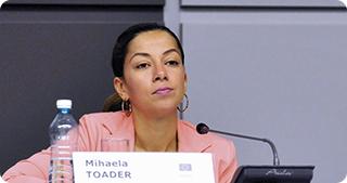 Mihaela Toader, director general în Ministerul Fondurilor Europene (© Agerpres)