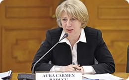 Aura Răducu, ministrul Fondurilor Europene