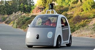 Maşina de la Google care se conduce singură