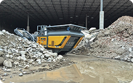 Vârful tehnologiei în prelucrarea deşeurilor din demolări
