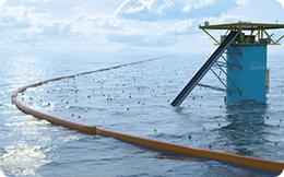 Colectarea deşeurilor cu ajutorul curenţilor marini
