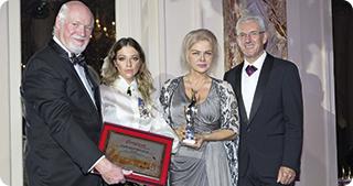 """Romprest,  câştigătoarea """"Best Enterprise"""" şi  """"Manager of the year"""" la """"European  Award Night"""" 2016"""