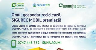 Colaborare între Green Group şi ECOTIC pentru colectarea ...