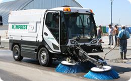 Utilaj de curăţenie stradală
