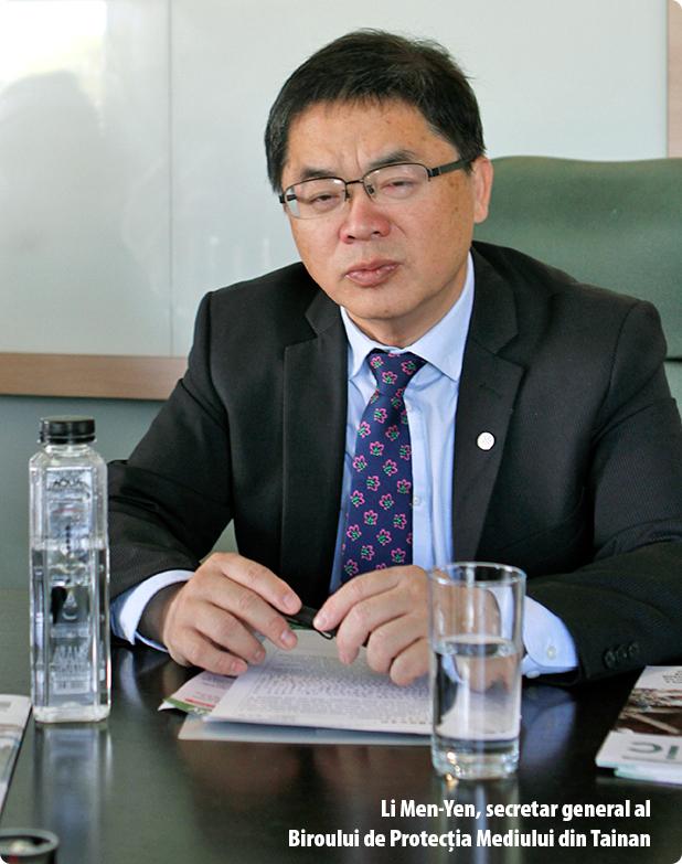 Li Men-Yen, secretar general al Biroului de Protecţia Mediului din Tainan