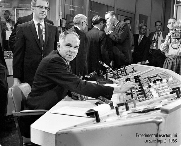 Experimentul reactorului cu sare topită, 1968