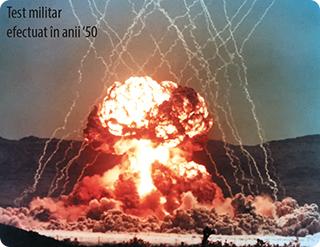 Test militar efectuat în anii '50
