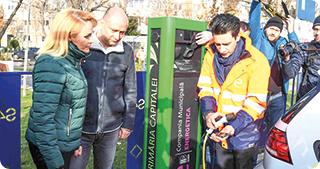 Noi stații de încărcare a mașinilor electrice