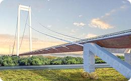 Proiect ambițios: un pod de 2 km peste Dunăre