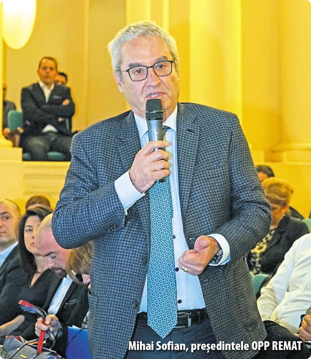 Mihai Sofian, președintele OPP REMAT