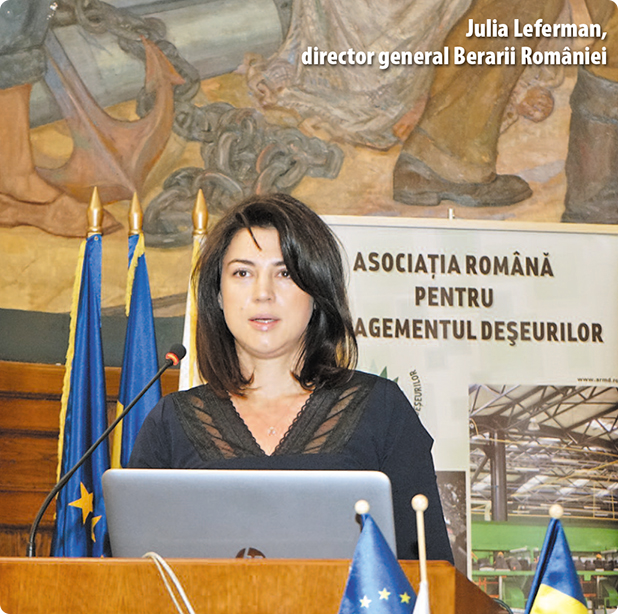 Julia Leferman, director general Berarii României