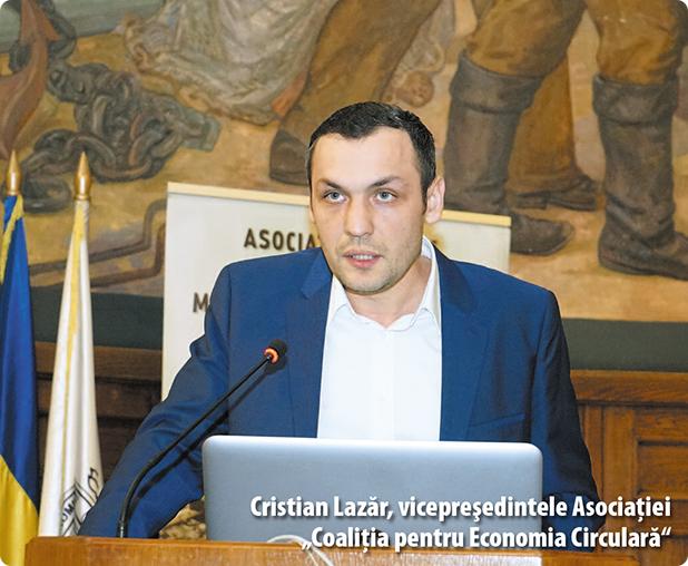 """Cristian Lazăr, vicepreşedintele Asociaţiei """"Coaliţia pentru Economia Circulară"""""""