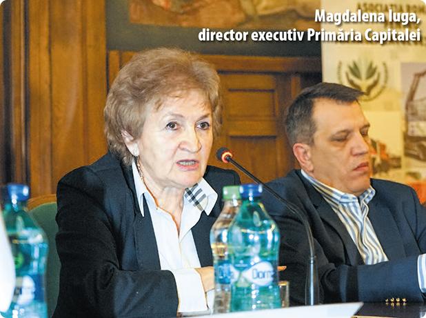 Magdalena Iuga, directorul executiv al Direcției de Utilități Publice din Primăria Capitalei
