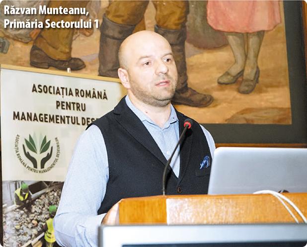 Răzvan Munteanu, director în Primăria Sectorului 1