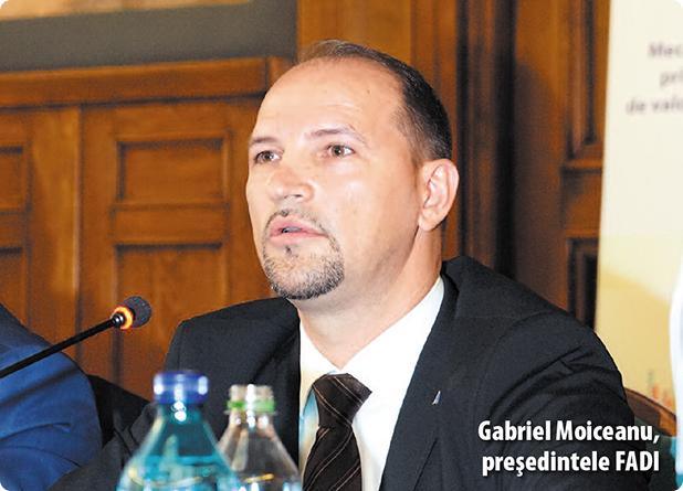Gabriel Moiceanu, președintele Federației Asociațiilor de Dezvoltare Intercomunitară