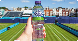 Sticla de plastic ecologică