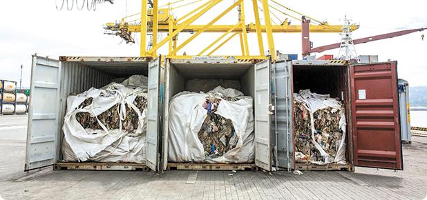 Export de deşeuri