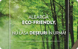 Aleargă eco friendly