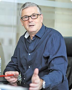 Valentin Negoiţă, preşedintele ECOTIC