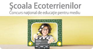 """""""Școala Ecoterrienilor"""" - educație pentru un mediu curat"""
