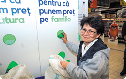 Carrefour România a transformat PET-ul în monedă