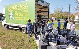 În două luni românii au predat spre reciclare peste 150 de tone aparate electrice defecte