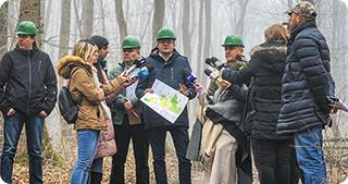 O parte din Pădurea Băneasa va scăpa de drujbe